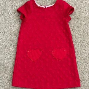 Cat & Jack Toddler Girls Heart Dress